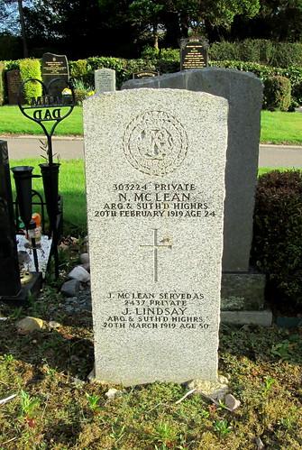 Great War Grave, Tillcoultry