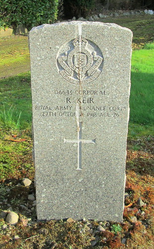 Tillicoultry Great War Grave