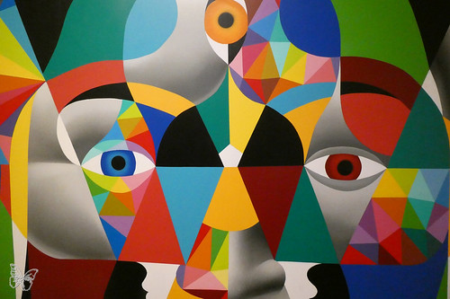 Okuda & Remed | by Butterfly Art News