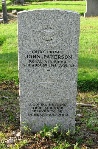Great War Grave, Tillicoultry