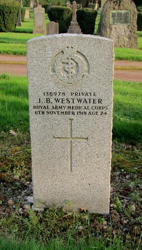 Tillicoultry Great War Grave