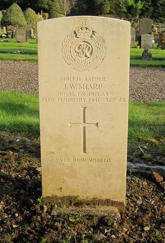 World War 2 Grave, Tillicoultry
