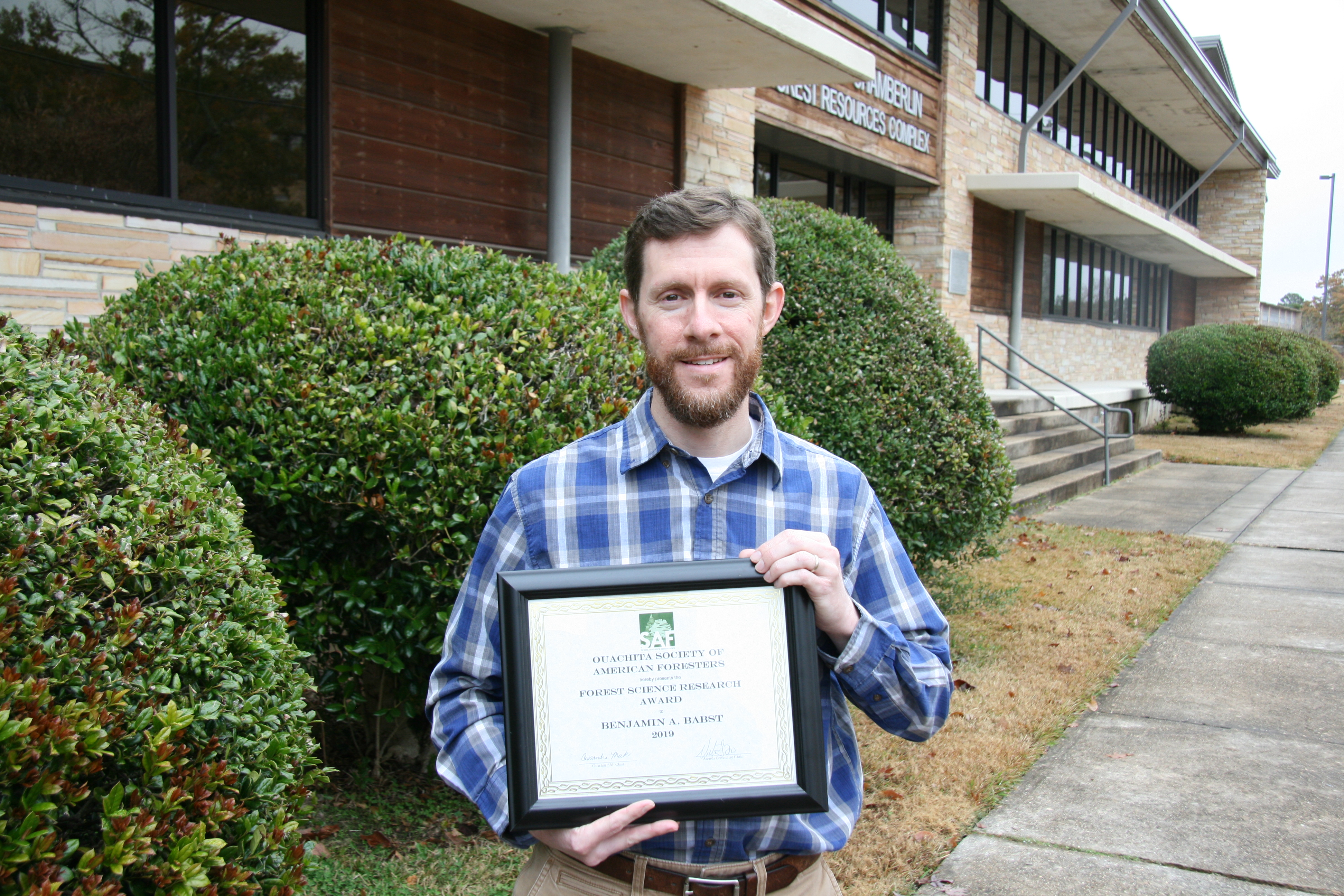 Benjamin Babst Forestry Research Award