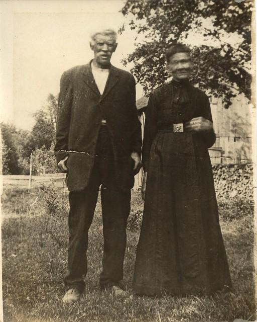 PB12 9b Dick and Eliza McDool c1905