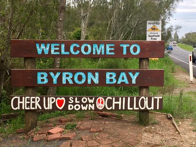 Ambassador Lesley Stone at Byron Bay, NSW