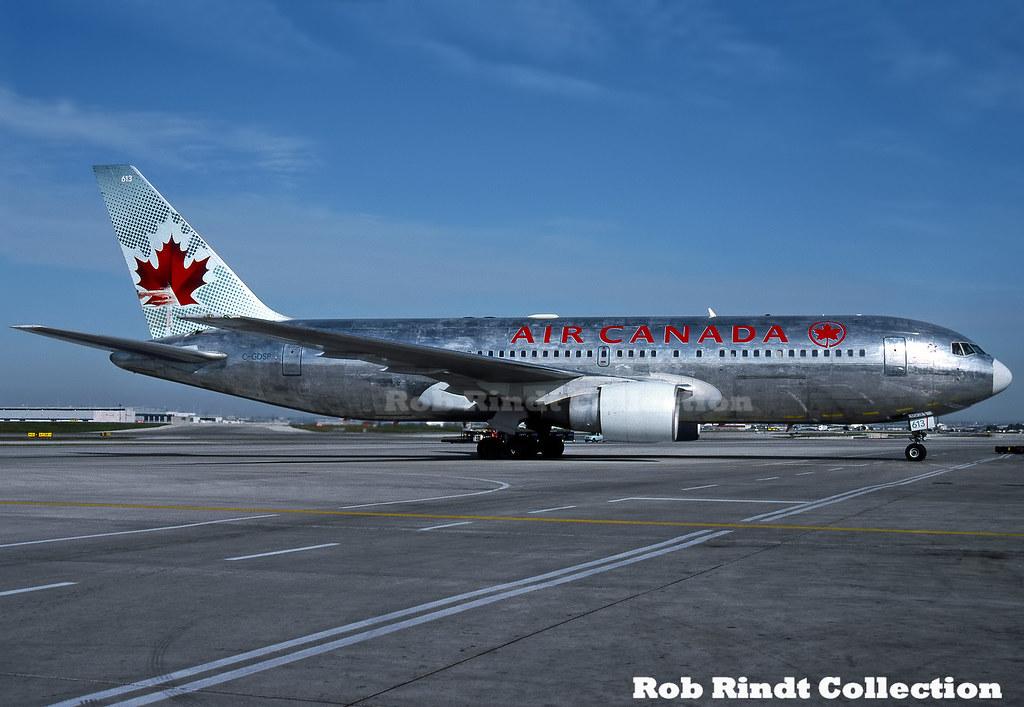 Air Canada B767-233/ER C-GDSP