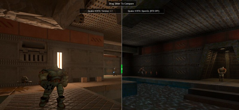 Quake 2 RTX - Old vs New