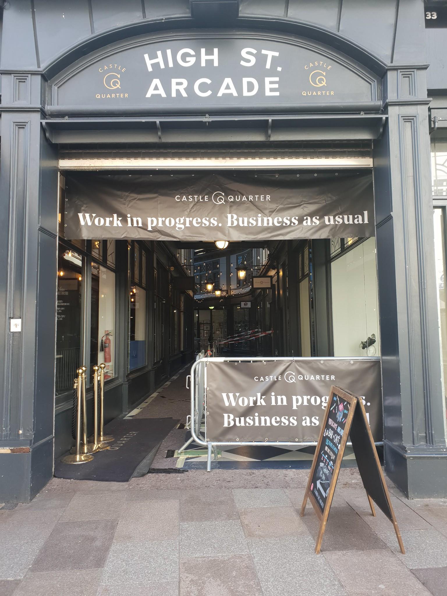 Kera, High Street arcade, Cardiff