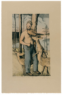 Study for a Farmer Fiddling with Fawns | by normaleditionsworkshop