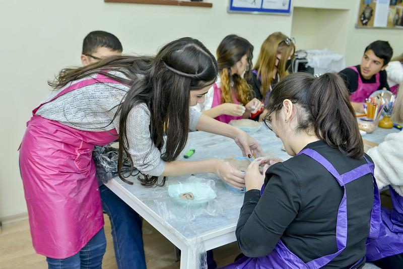 Azerbaijan: Inclusive education through traditional arts