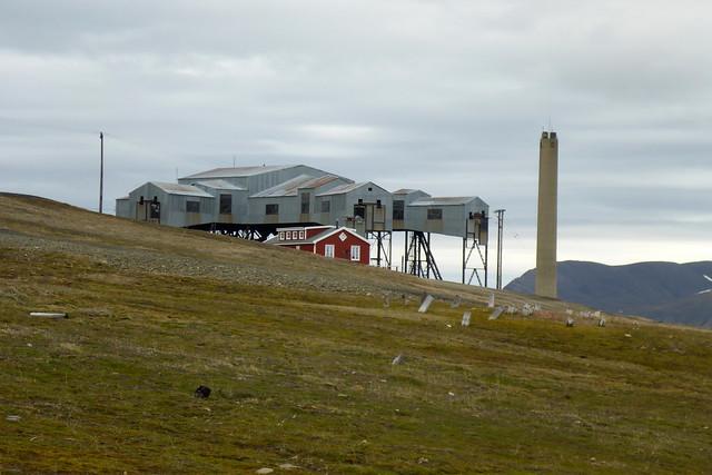 Old coal mine, Longyearbyen