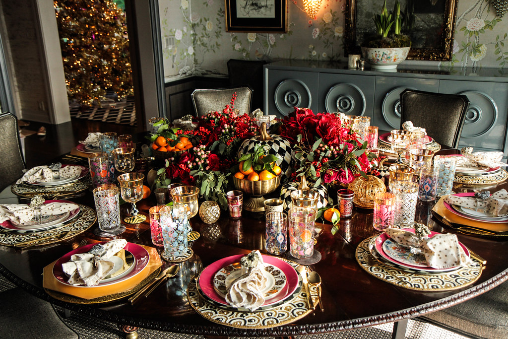 Thanksgiving Tablescape from HeatherChristo.com