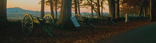 Dawn on Seminary Ridge