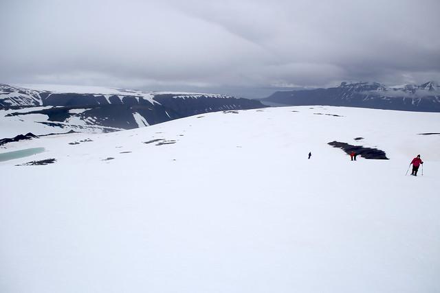 Walk to Trollsteinen near Longyearbyen, Svalbard