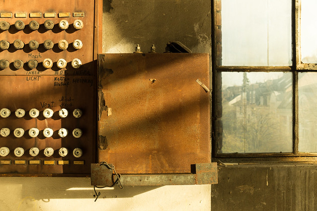 Control center and fuses
