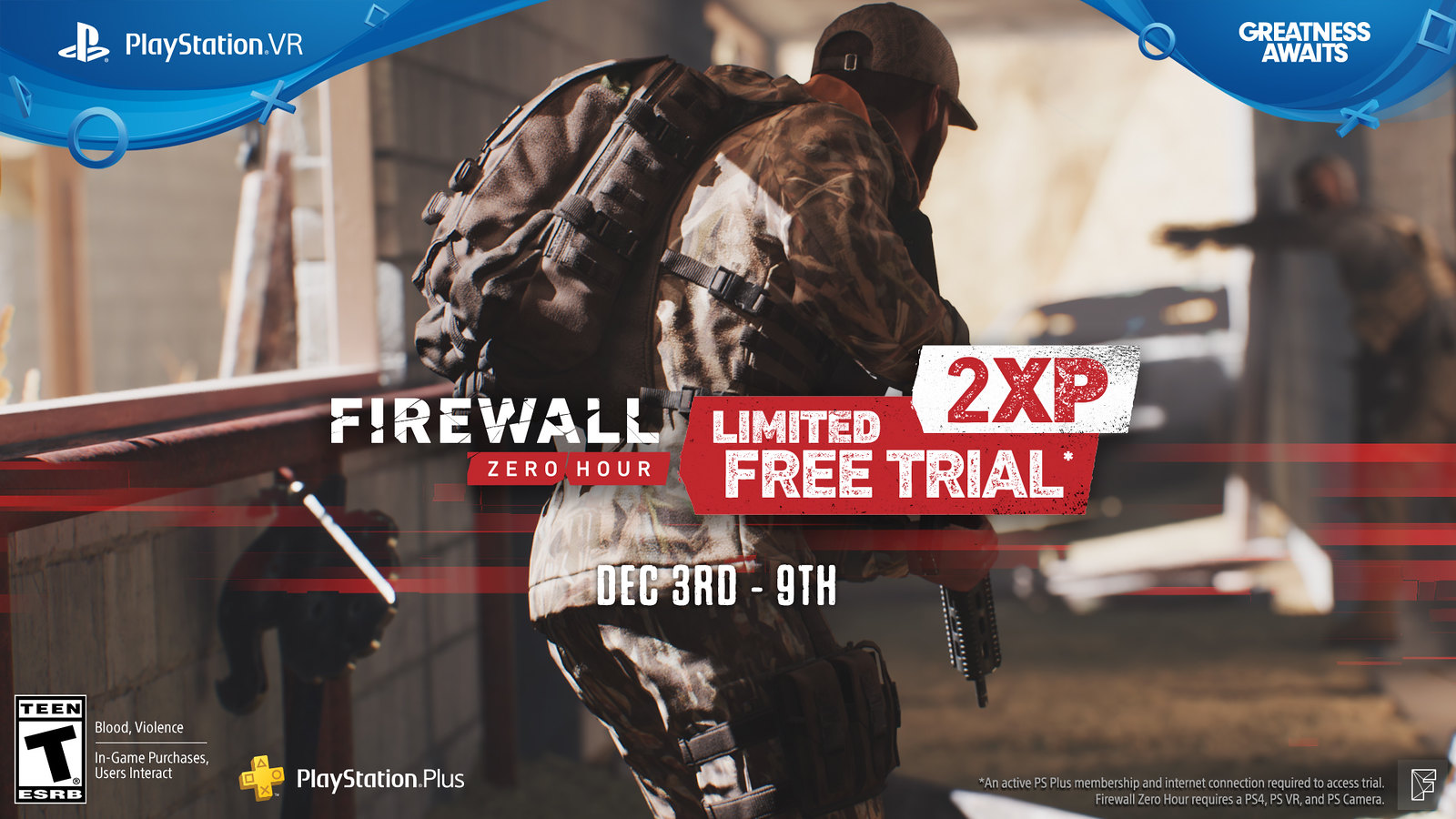 PlayStation Plus - Firewall Zero Hour