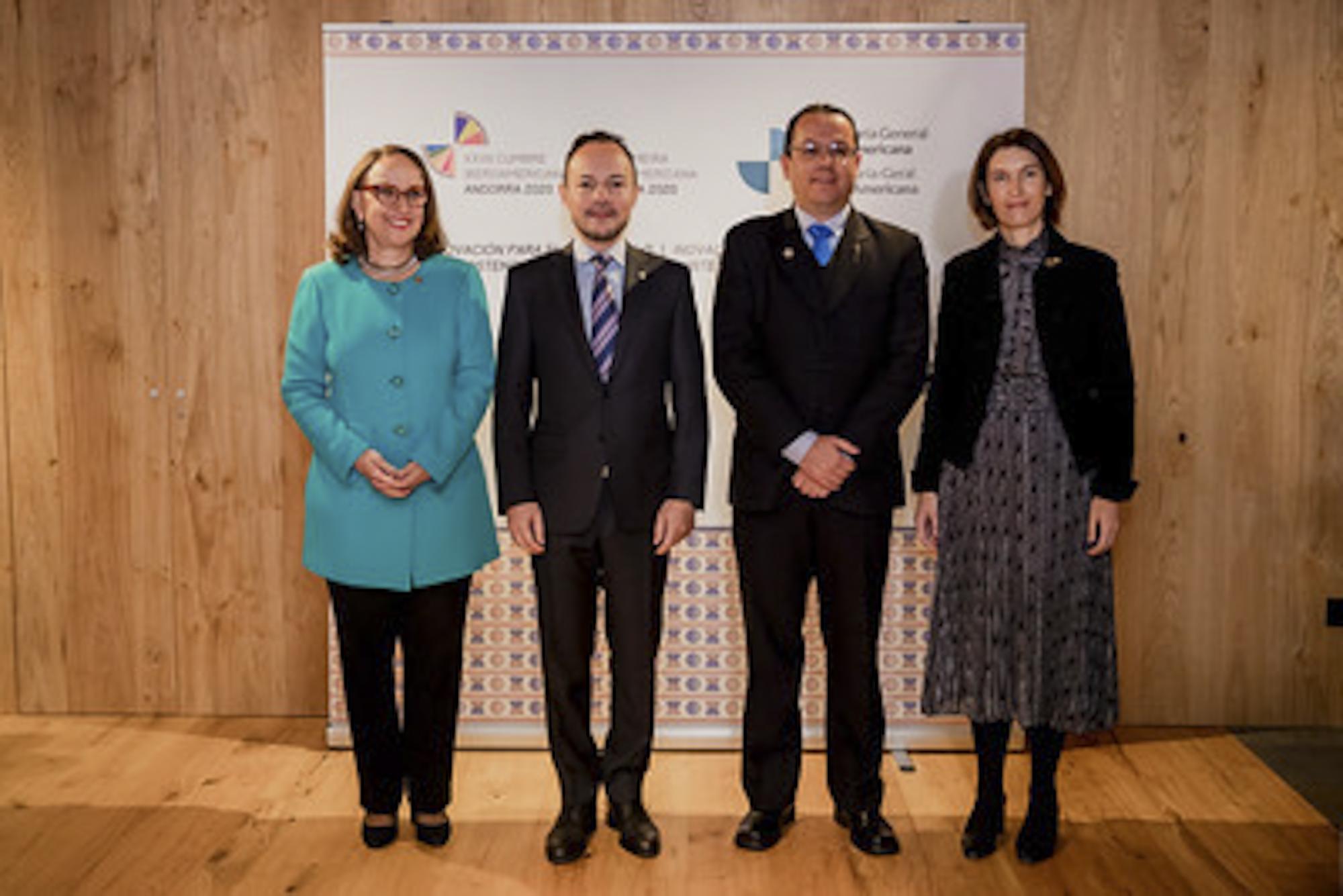 Viceministro para Temas Multilaterales de la Cancillería de Venezuela se reúne con el jefe de gobierno de Andorra