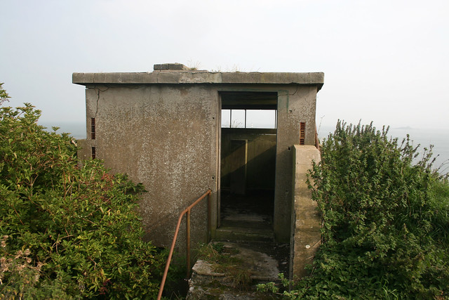 Old World War II lookout, Inchcolm