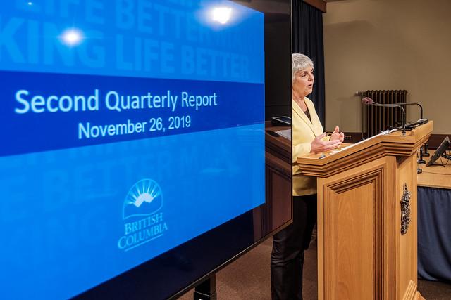 B.C.'s economy resilient, finances on track