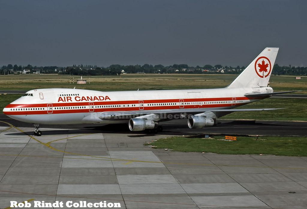 Air Canada B747-233BM C-GAGA