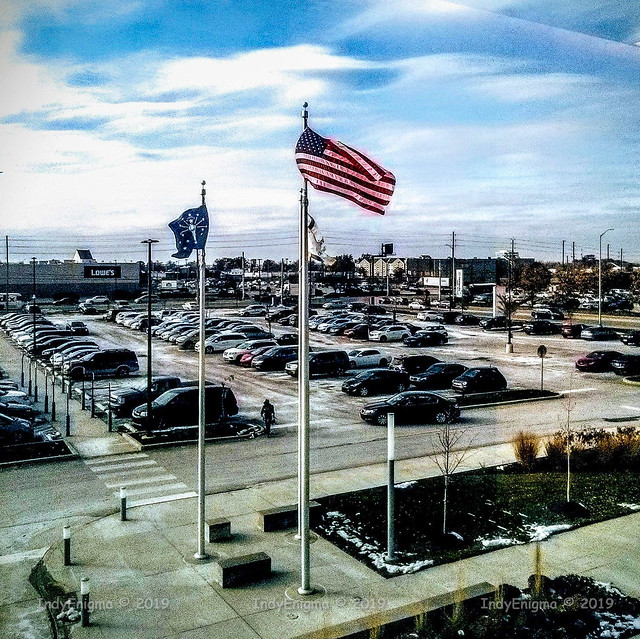 flags in front of CHNCC