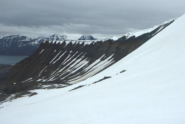 Mountains near Longyearbyen
