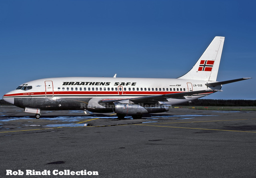 Braathens S.A.F.E. B737-205/Advanced LN-SUB