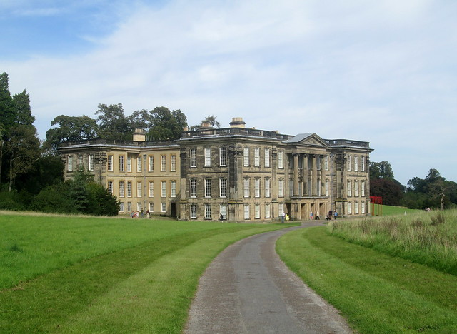 Calke Abbey from distance