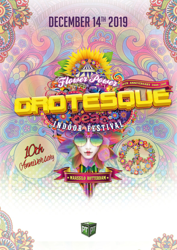 cyberfactory grotesque indoor festival rotterdam holland nederland