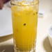 Utopia (mocktail) - fresh passion fruit, pepper cordial, lime juice, ginger beer