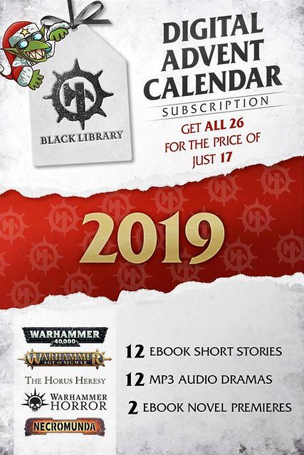 Black Library Advent Calendar 2019
