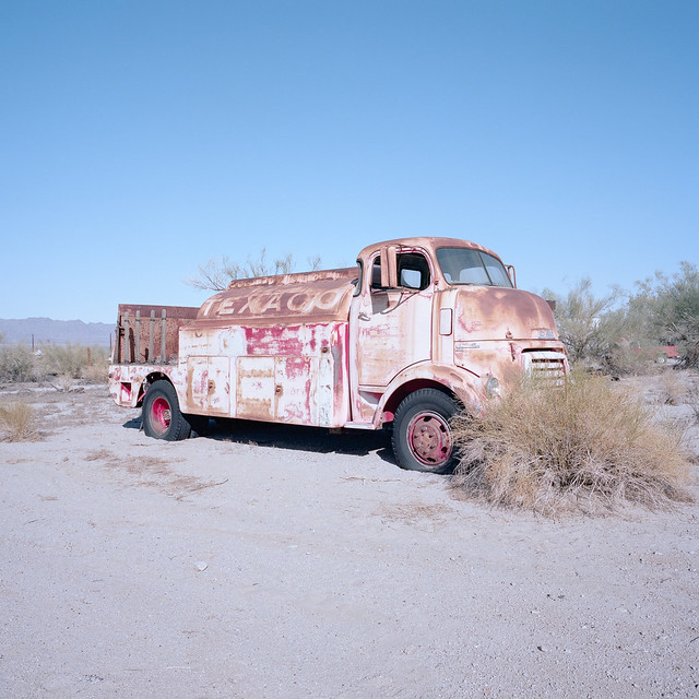 texaco. desert center, ca. 2019.