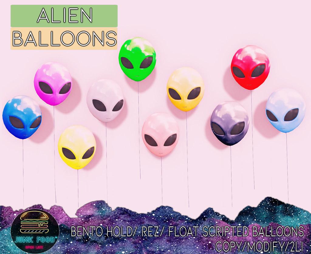 Junk Food – Alien Balloons Ad