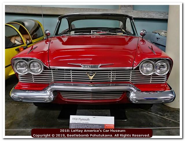 2018: LeMay America's Car Museum: Christine!
