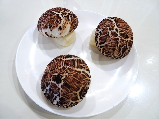 Steamed House Special Mushroom Buns