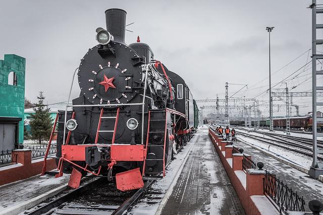 Old Steam in Omsk.