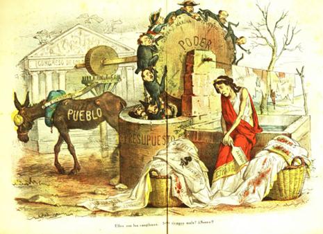19k27 La Flaca Barcelona número 46 4 enero 1873 La Flaca Barcelona número 46 4 enero 1873