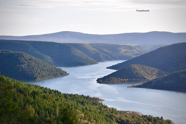 The Krka Nationalpark from above