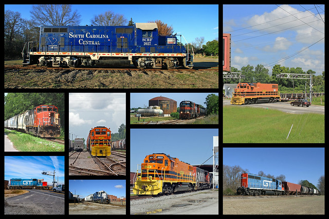 South Carolina Central Railroad Collage