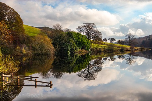 Reservoir reflections.