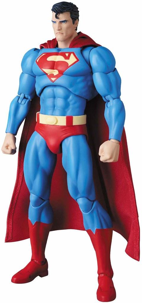 附屬戴上「氪石戒指」的蝙蝠俠替換手! MAFEX《蝙蝠俠:緘默》超人(緘默版本) マフェックス SUPERMAN(HUSH Ver.)