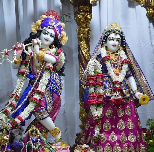 ISKCON Bangalore Deity Darshan 27 Nov 2019