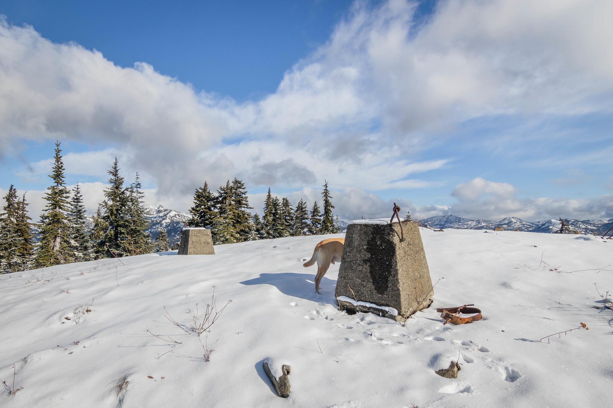 Polallie Ridge lookout site