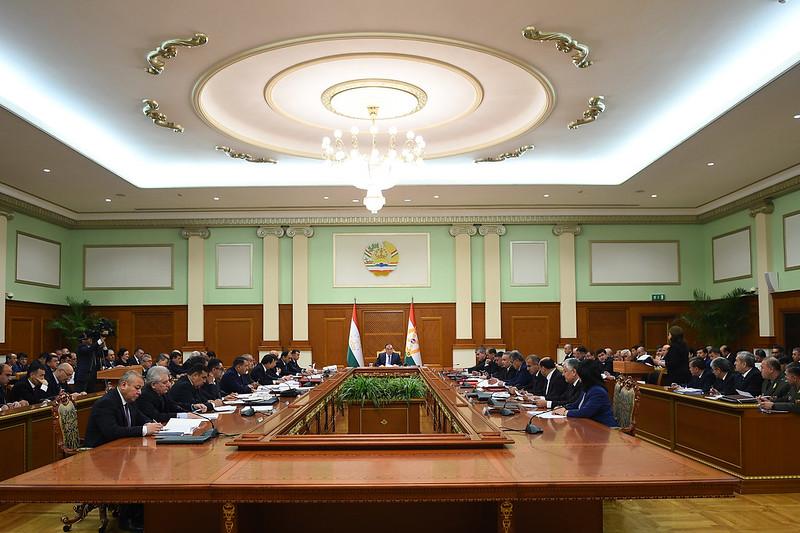 Состоялось очередное заседание Правительства Республики Таджикистан
