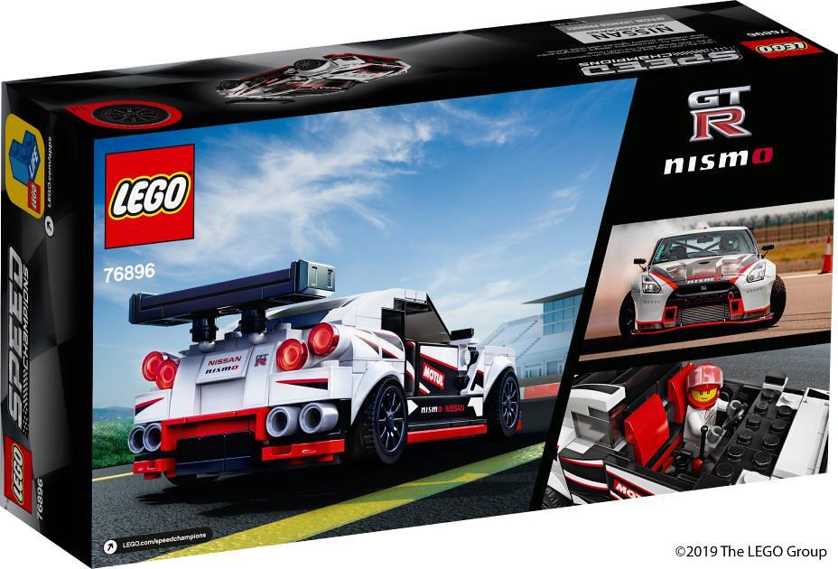 樂高攜手日產汽車、傳奇的「東瀛戰神」現身! LEGO 76896 Speed Champions 系列【Nissan GT-R Nismo】爸,我要買GTR!