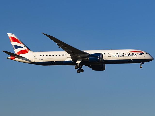 British Airways | Boeing 787-9 Dreamliner | G-ZBKI