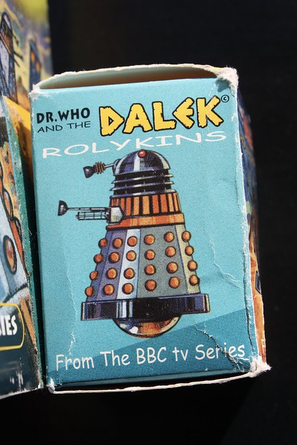 Dalek Rollykins Box Side ( 1999 )