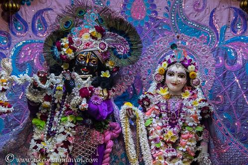 ISKCON Vrindavan Deity Darshan 27 Nov 2019