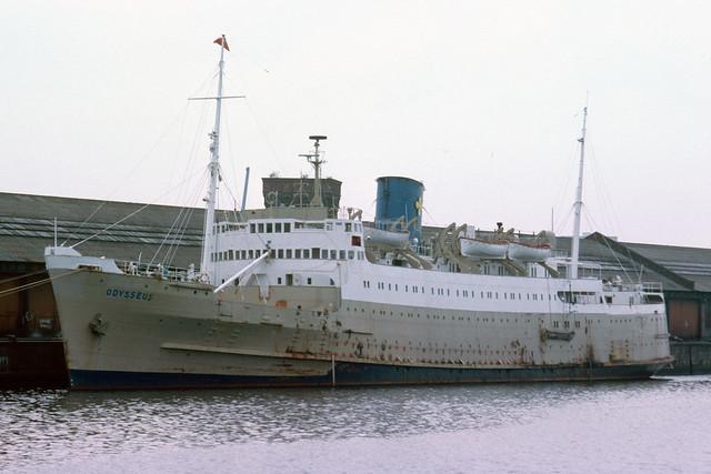 Odysseus - Plantation Quay - Glasgow - 1978