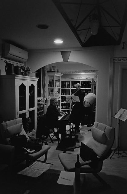 A Rehearsal (35mm Kodak Tri-X in Diafine)